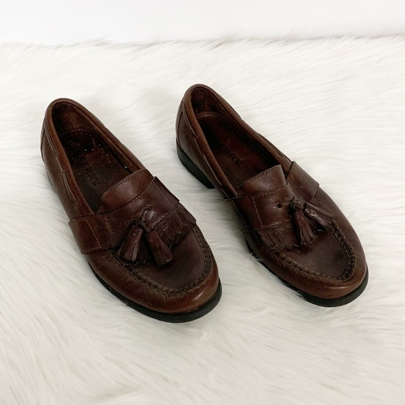 Sperry Other - Sperry | Brown Leather Tassel Loafers SZ 7.5